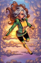 Rogue X - In Color by JamieFayX