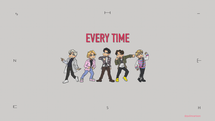 SHINee Every Time (Clean version) by Pulimcartoon