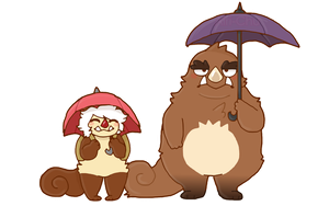 Pudding and Gumbo by Airi-Chu