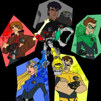 Voltron Force - The Team by W-Double