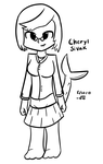 Cheryl Sivak (Yet Another Dumb Original Character) by VioletLinked