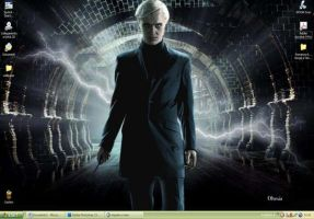 HP6-Draco Malfoy Wallpaper by Dhesia