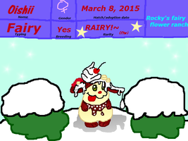 Rocky's Fairy Flower Ranch Oishii by rockythebunny13