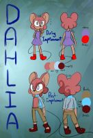 Character Reference - Dahlia by ALittleBirdly