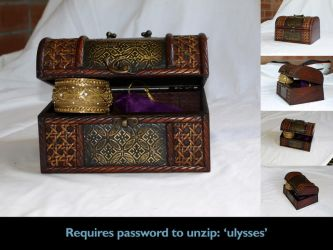 Precious - treasure chest 2 by Eyespiral-stock