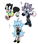 Sonic adopts #3 [CLOSED] by BattyDoodles