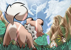 A Wild Rockruff Appeared!! by yatocommish