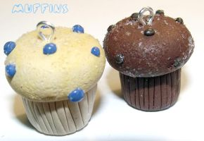 Clay Muffins by funkypinkgal
