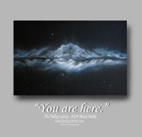 You are Here. by Spanglerart