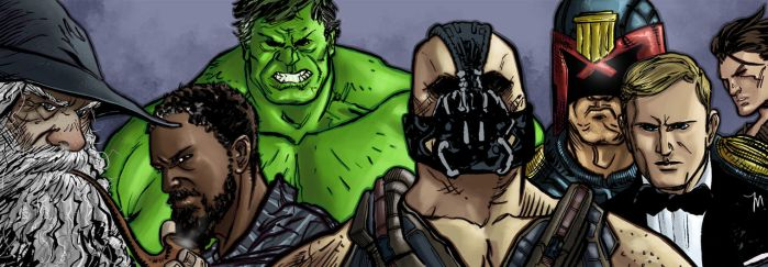 Favorite Movies from 2012 Sketch Cards by jessemunoz