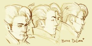 Butch Sketches by mbrisa