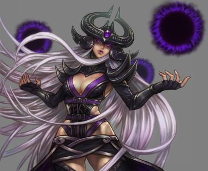 league of legends syndra color by bonekatana