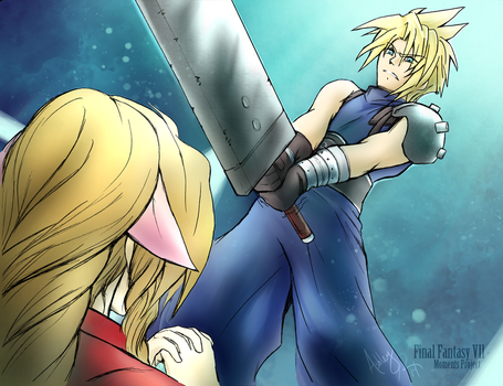 FFVII Moments - Temple of the Ancients 02 by Kawaii-Ash