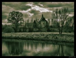 Lutomiersk castle convent HDR by grafzero