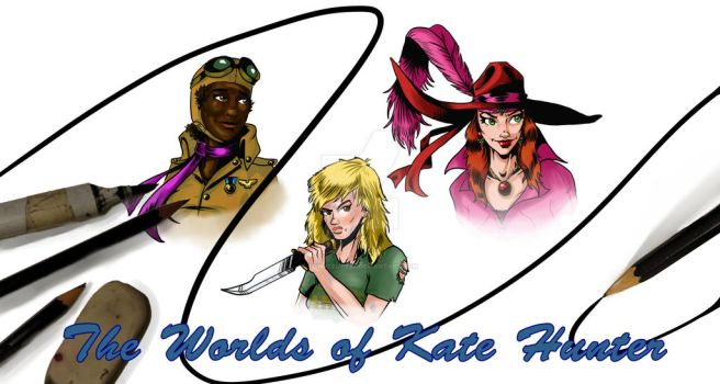 Worlds of Kate Hunter by TonyTempest