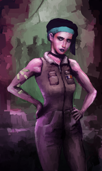Neuromancer: Linda Lee redux by ARCANEXIII3