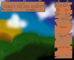 Sunset Dreams Ranch || Reference Sheet by TheRealRiiver