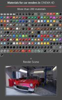 Car Paint 3 for Advanced Render/Physical by OsTin
