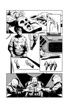 Death by Service - sci-fi short story - page 2 by AhmedRaafatArt