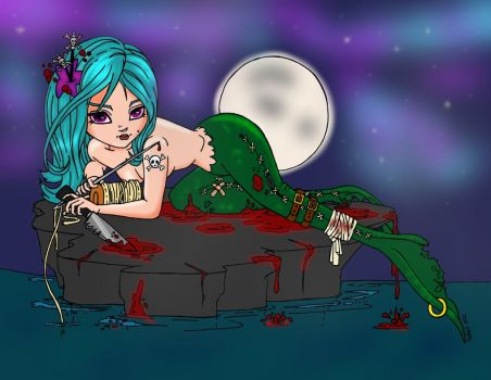 The Little Mermaid Colored by LeavingSoul