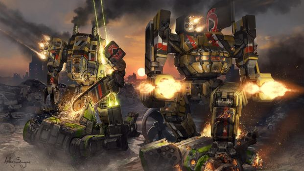 MechWarrior - A.C.E.S. by Shimmering-Sword