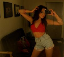 Liz Gillies Sexy 7 by Gaming-Master