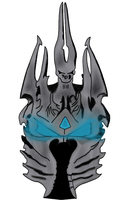 Lich helm concept by ZombieMadAss