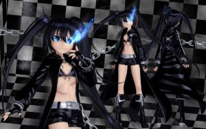 Black Rock Shooter by Primantis