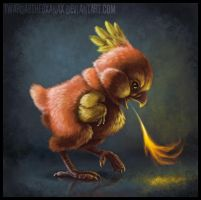 Realistic Torchic by Twarda8