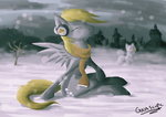 Derping In The Snow by Gaiascope