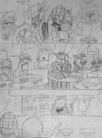 Crossover Comic 2: Page 23 The Bar Tender by DrMatthew178