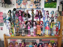 Monster High Collection ::UPDATE:: by AnimeJanice