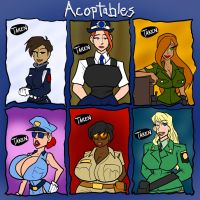 Acoptables SOLD OUT by JonFreeman