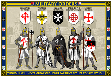 Military Orders Poster - William Marshal Store.com by williammarshalstore