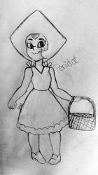 Peridot Dressed Up For Garnets Wedding by Jessi-Witt