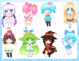 Con Stickers 1 by CoffeeUmi