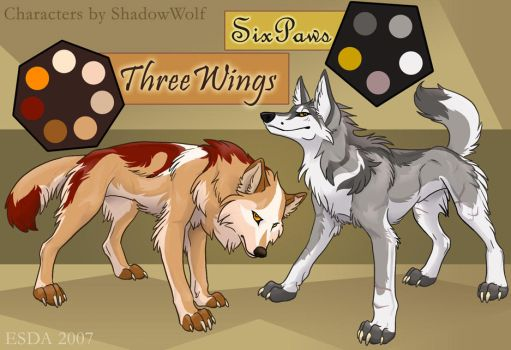 Six and Three Sheets by FablePaint