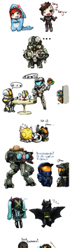 Rvb Doodles 5 by No-pe