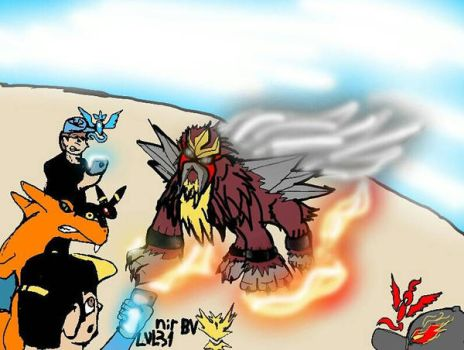Pokemon go ENTEI is my by nbv555