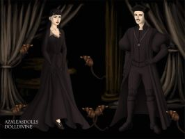Gomez and Morticia Tudor's Style by suburbantimewaster