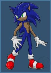Sonic style test- colour by Swirlything