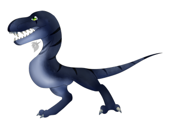 Dino by Frostii-Dragons