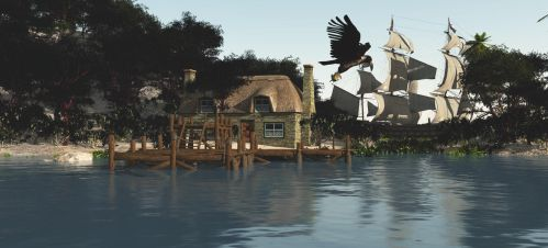 Island Resort by fractal2cry