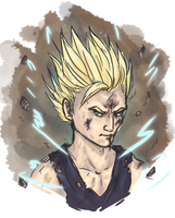 Gohan sketch by Jakiron