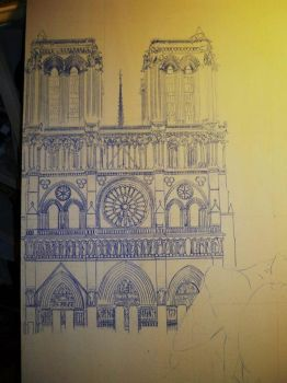 notre dame by axelfolletto