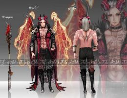 [CLOSED] Auction Collab Prince of Hades by sarahwidiadopts