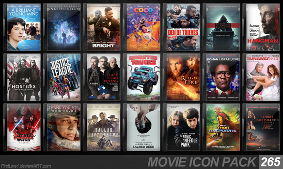 Movie Icon Pack 265 by FirstLine1