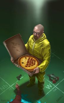 Walter White by radiationboyy