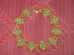 Brass and Green adventurine by tk8247