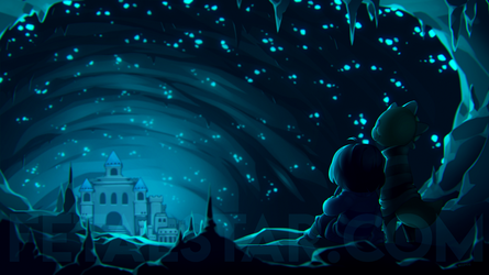 UNDERTALE - The Magic Kingdom by fetalstars